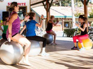 fitness au camping en Gironde