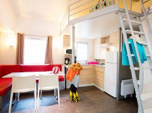 location mobil home Aquitaine : intérieur