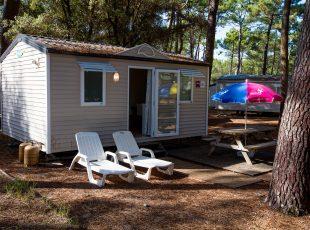 location mobil home Aquitaine : mini extérieur