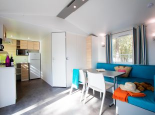 location mobil home Gironde : intérieur oceane