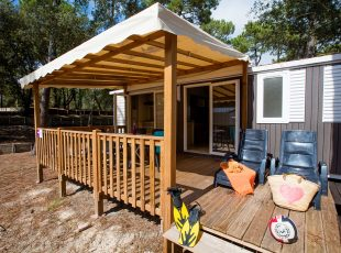 mobil home Hourtin : cottage oyat