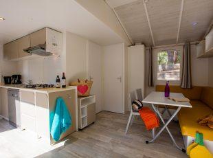mobil home Aquitaine : intérieur