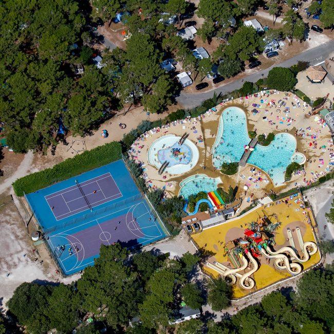 camping Gironde avec parc aquatique