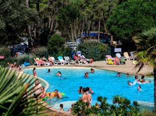 camping Gironde avec piscine chaffée