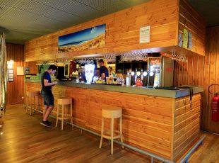 bar au camping en Gironde