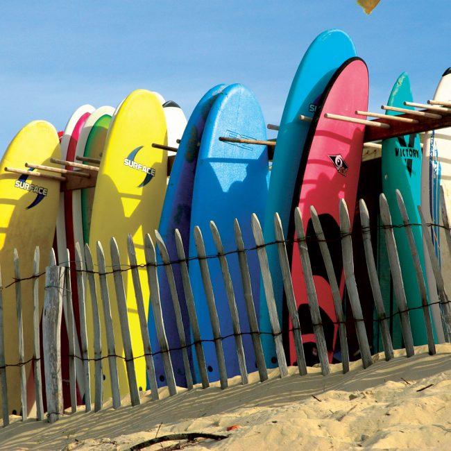 alentours camping gironde surf
