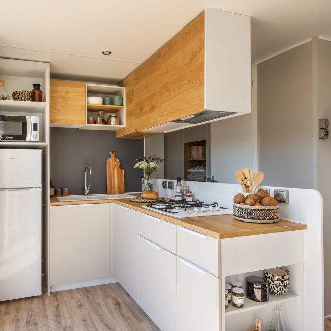 Super Alizé Mobile Home Cottage Rental, 6-people